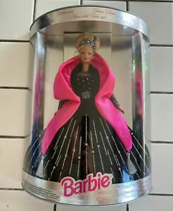 ULTRA RARE 1998 Multi Language CHRISTMAS Special Edition Barbie OLD STOCK