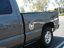CHEVROLET SILVERADO/GMC SIERRA 1999 - 2006 TFP CHROME ABS FUEL GAS DOOR COVER