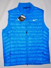 Nike mens AeroLoft insulated Blue Golf Vest size XXL /  2XL retail $170
