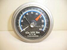 Vintage SUN Super Tachometer SST-801 10k Blue Line Tach
