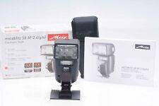 Metz Mecablitz 58 AF-2 TTL Digital Electronic Flash For Sony Minolta        #567