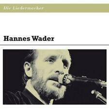 """HANNES WADER """"DIE LIEDERMACHER: HANNES WADER"""" CD NEU"""