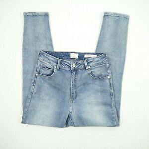 Cotton On - High Grazer Skinny Blue Stretch Denim Jeans Women's Size 10 W26