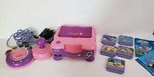 Pink VTech VSmile TV Learning System Bundle With Controller and 5 Games