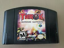 Turok: Rage Wars (Nintendo 64, 1999) N64 Pins Cleaned | Tested | FAST Shipping!