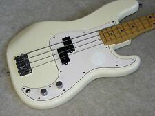 Fender American Standard Precision Bass - Olympic White - Beautiful!