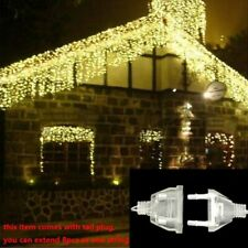Christmas Lights Outdoor Decor 4.5m Droop 0.3-0.4-0.5m Led Curtain Icicle String