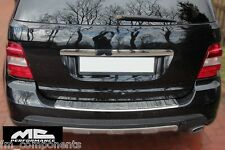 Protector cromado de maletero para Mercedes Benz ML W164 chrome bumper protector