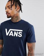 Adult VANS MENS classic logo t-shirt skateboard tee
