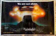 Close Encounters Of The Third Kind (1977) - 23� x 35� - Thought Factory - Rare