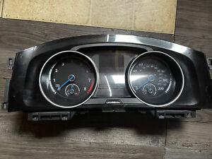 VOLKSWAGEN GOLF R MK7 Speedo Dials Clocks Instrument Cluster 46137 5G1920958 A
