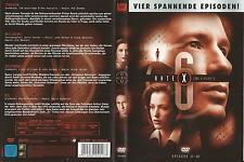 Akte X The X-Files / 4 Episoden 17-20 (Trevor-Milagro-Suzanne-Ex) / DVD #12208