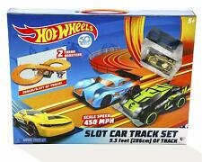 New Licensed HOT WHEELS Battery Operated SLOT CAR TRACK SET 286cm HotWheels