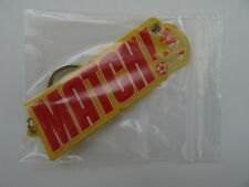 Match! Key Ring from MATCH Magazine. FOOTBALL. SOCCER. Collector's memorabilia.