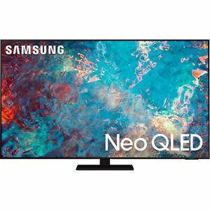 "Samsung QN85QN85AAFXZA 85"" 4K Smart QLED LED TV QN85QN85A 10 Bit 2021"