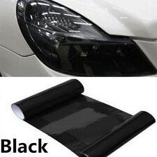 "12""X40"" Dark Smoke Black Tint Film Headlights,Tail lights Car Vinyl Wrap Useful"