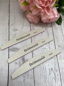 Bridesmaid Nail File. Bridesmaid Gift. Bridesmaid Proposal. Bridesmaid Favour