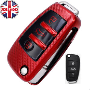 Car Remote Key Fob Cover Case Soft Touch TPU For Audi A1 A3 A4 A5 Q7 A6 C5 C6