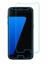 2x Tempered Glass Galaxy S7 Screen Protector Genuine Film 3mm Gap On Each Side
