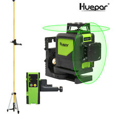 Set huepar de 902cg gafas láser/láseres-receptor/láser trípode/barra telescópica
