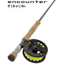 Orvis Encounter Outfit Fly Rod & Reel - 8 weight/9ft/4pc New Free Shipping