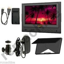 "Lilliput 7"" 5D-II/O HDMI In & Out Monitor Canon 5D Mark II 5d2+cable+Sun shade"