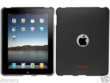 Cellet 1st Generation Apple iPad 1 Black Rubberized Proguard Snap-On Flexi Case