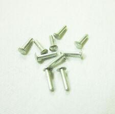 Vespa Piaggio Emblem Rivets Pins Aluminum Fasteners VBB VBA Sprint Super GL GT