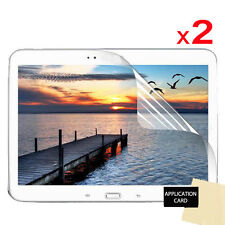 2 Pack Of CLEAR Screen Protector Guard for Samsung Galaxy Tab 3 10.1 P5200 P5210