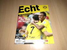 BORUSSIA DORTMUND@ BVB @Stadionmagazin ECHT@Heft 60@ 2. Spieltag 2013/14