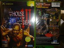HOUSE OF THE DEAD III - 3 - Nuovo SIGILLATO XBOX X-BOX