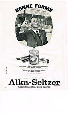 PUBLICITE  1966    ALKA-SELTZER   bonne forme
