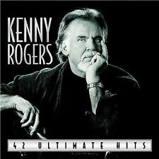 KENNY ROGERS **42 Ultimate Hits **BRAND NEW FACTORY SEALED 2 CD SET