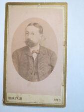 Ried Innkreis - 1890 - Mann mit Bart im Anzug - Portrait / CDV