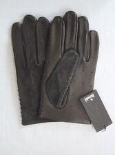 Original gants ROECKL noir   en cuir daim taille   9.5   neuf