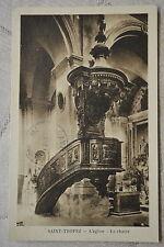 """CPA """" SAINT TROPEZ - L'Eglise - La Chaire"""
