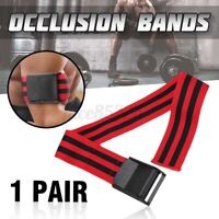 Fitness Occlusion BFR Bands Wrap Blood Flow Restriction Training Bodybuilding AU