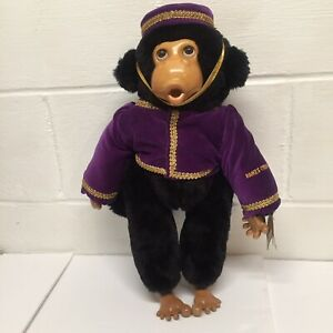 Robert Raikes Original Applause Inc. Wooden Circus Monkey w/ Tags