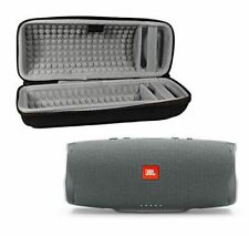Charge 4 Waterproof Wireless Bluetooth Speaker Bundle with Portable Hard Case