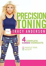 TRACY ANDERSON : PRECISION TONING -  DVD - UK Compatible - sealed