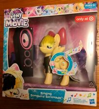 My Little Pony the Movie Singing Songbird Serenade Sia's MLP Character NEW