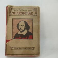 The Works of William Shakespeare c.1900 undated w/ memoir, glossary Warne & Co.