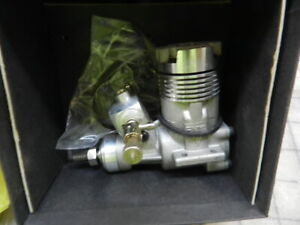 Enya 25XT.V. Two stroke  Nitro Engine with pipe