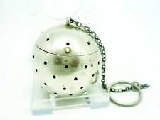 Sterling Silver Tea Ball Infuser, American, Antique, Simons Bros. Co.