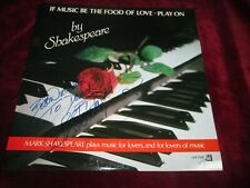 If Music Be Food of Love Mark Shakespeare Playing a Roland Synth TR 808 Vinyl LP