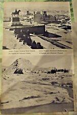 1962 Carte & Image Turquie Ankara monument de Kemal, l'Euphrate près d'Erzincan