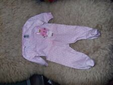Gerber Footed Pajama 3-6 months, Easter bunny