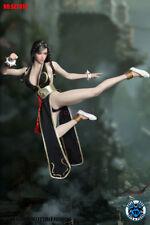 1/6 Street Fighter Chun-Li Head Sculpt Clothing Set For PHICEN Female Figure New