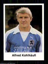 Alfred Kohlhäufl TSV 1860 München Panini SB 1977-78 Original Signiert +A 58933