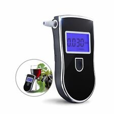 Portable Digital Alcohol Breathalyser Breath Tester Breathtester w/ Blue LCD AU